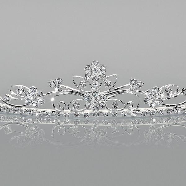 Diadem - Silver Plated 2,5 cm