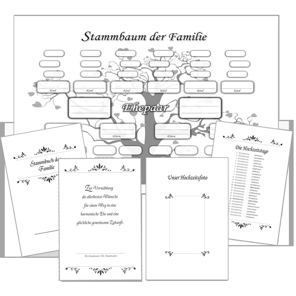 Atemberaubend Genealogie Vorlage Kostenlos Ideen - Entry Level ...